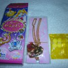 SAILOR MOON CRYSTAL JAPAN SEBON PRISM PREMIUM SERENITY GOLD PRINCESS PINK PENDANT NECKLACE TOY CANDY