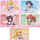 SAILOR MOON CRYSTAL NEW JAPAN RARE TABLET TIN CAN YOGURT CANDY SET OF 5