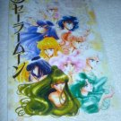 SAILOR MOON JUMBO BOARD MANGA CARD SERENITY INNER & OUTER GROUP