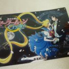 SAILOR MOON JUMBO BOARD CRYSTAL CARD USAGI MAMORU TUXEDO (NIGHT)