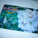 SAILOR MOON JUMBO BOARD CRYSTAL CARD USAGI SERENITY , 2 CATS