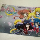 SAILOR MOON JUMBO BOARD CRYSTAL CARD USAGI , INNER SENSHI GROUP SCHOOL