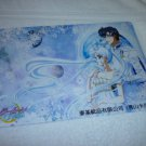 SAILOR MOON JUMBO BOARD CRYSTAL CARD KING ENDYMION QUEEN SERENITY