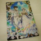 SAILOR MOON JUMBO BOARD CRYSTAL CARD KING ENDYMION QUEEN SERENITY RAINBOW BUTTERFLY