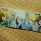 SAILOR MOON CRYSTAL BOOKMARK CARD Jadeite Nephrite Zoicite Kunzite (closed eyes)