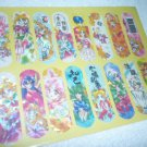 SAILOR MOON MANGA RAREST VINTAGE ART SHEET STICKER PRISM (BANDAGE SHAPE)