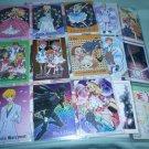 VINTAGE RAREST Sailor moon Ashita No Nadja Japan 2003 Prism & regular card 1-54