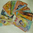 ULTRA RARE Sailor Moon CRYSTAL TAIWAN COMPLETE ALL 80 CARD REGULAR PRISM FOIL EXCLUSIVE POP UP STORE
