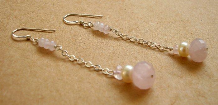 Pink Cloud Earrings