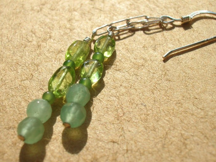Think Green Earrings