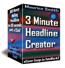 3 Minute Headline Creator - Resell eBook!