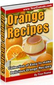 Orange Recipes - Resell eBook!