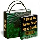 7 Days to Write Your Next Book - Resell eBook!