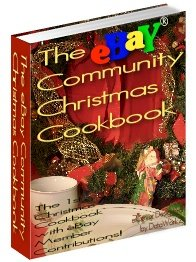 The eBay Community Christmas Cookbook by eBay Group - Resell eBook!