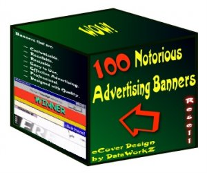 100 Notorious Advertising Banners - Resell Graphics!
