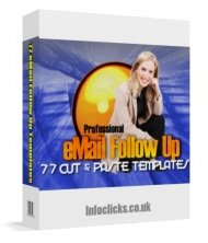 Email Follow Up - Resell eBook & Templates!