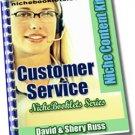 Customer Service Niche eBooklet - Resell eBook!