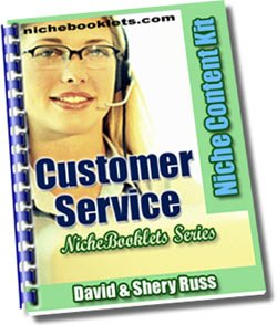 Customer Service Niche eBooklet - Resell eBook!