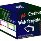 196 Creative Web Templates - Resell Templates!