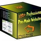 100+ Professional Pre-Made Websites - Resell Templates!