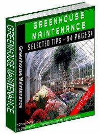 Greenhouse Mainenance - Resell eBook!