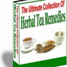 The Ultimate Collection of Herbal Tea Remedies - Resell eBook!