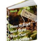 Start an Herb Garden - Resell eBook