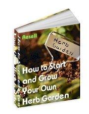 Start an Herb Garden - Resell eBook