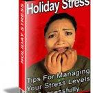 Holiday Stress - Resell eBook
