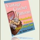 20 Vintage Crochet Patterns - by Michelle Vowell - Resell eBook