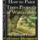 How to Paint Trees with Watercolors - Resell eBook