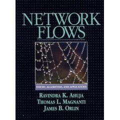 Network Flows: Theory, Algorithms, and Applications