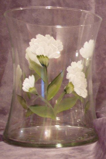 Carnation Hourglass Ice Bucket/Vase