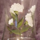 Carnation Hourglass Ice Bucket/Vase