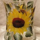 Sunflower Hourglass Ice Bucket/Vase