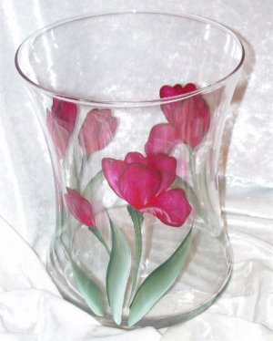 Tulip Hourglass Ice Bucket/Vase