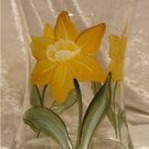 Daffodil Hourglass Ice Bucket/Vase
