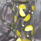 Hand Painted Lemon Pitcher