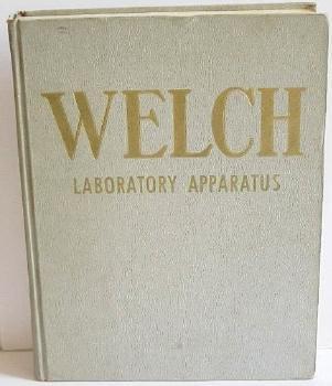 Welch Scientific Apparatus Original Catalog 1963 Models School Supplies Hardbound