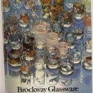 Brockway Glassware Glass Catalog Original Trade Catalogue c.1978