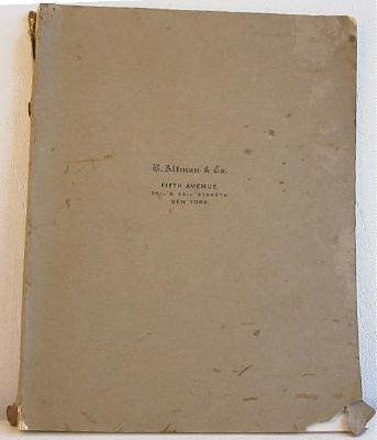 B Altman & Co Fall and Winter 1909-1910 Catalog No.100 Original Apparel Giftware