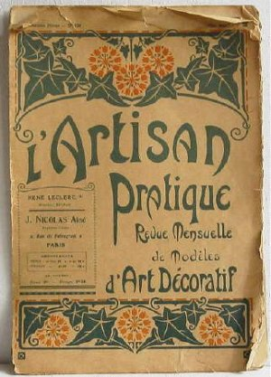 L�Artisan Pratique Revue Mensuelle de Modeles D�Art Decoratif, May 1920 No.131 Pattern Booklet