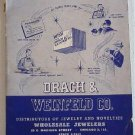 Drach & Weinfeld Co 1953 Catalog Jewelry Novelties Dresser Sets Lighters Cufflinks Compacts