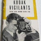 How to Use the Kodak Vigilants Six-20 and Six-16 Original Instructional Booklet