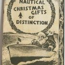 Nautical Christmas Gifts of Distinction EJ Willis Co Catalog 1950's - 1960