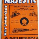 Majestic Wholesaler Holiday Catalog 161 1948-1949 Christmas Lighting Toys Appliances Lamps Clocks
