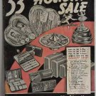 53rd Holiday Sale Luraline Circa 1950 Catalog Silverplate Dresser Sets Music Boxes Wallets