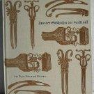 Aus Der Geschichte der Heilkunst by Ernst Koniger c.1958 Antique Medical Instruments German Text