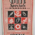 1927 Catalog Gift Specials Watches Diamonds Jewelry Christmas Sale