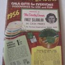 100 Pages of New Ideas Gala Gifts 1956 Dorothy Damar Catalog Novelties Toys House Kitchen Wares